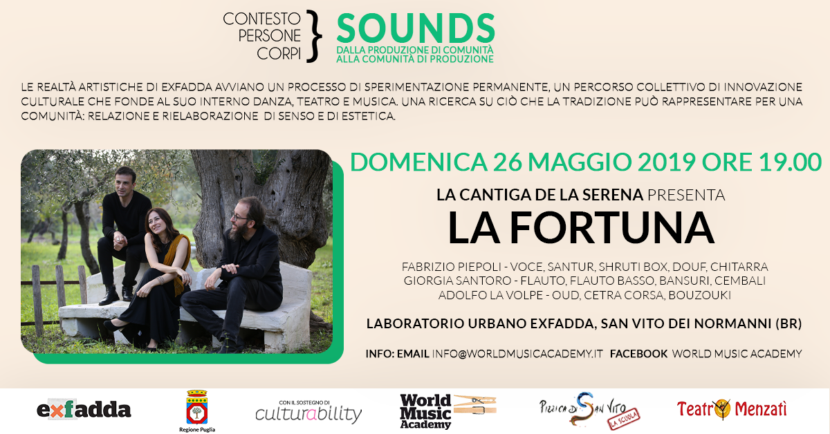 La cantiga della serena, World music, world music academy