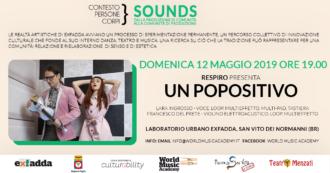 ContestoPersoneCorpi, Sounds, Respiro, Un POPositivo, World Music