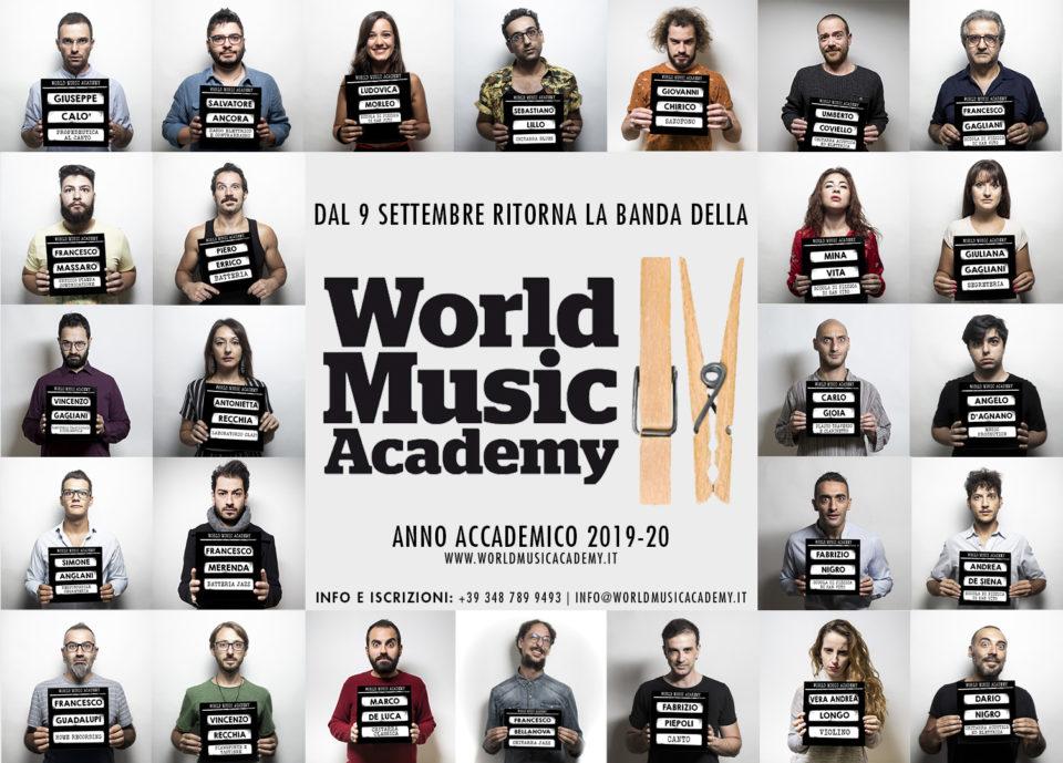 Wma, world music, academy, inizio attività, scuola di musica, corsi di musica, corsi di danza