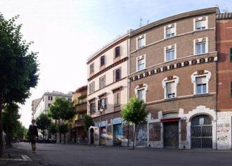 Quartiere pigneto, roma